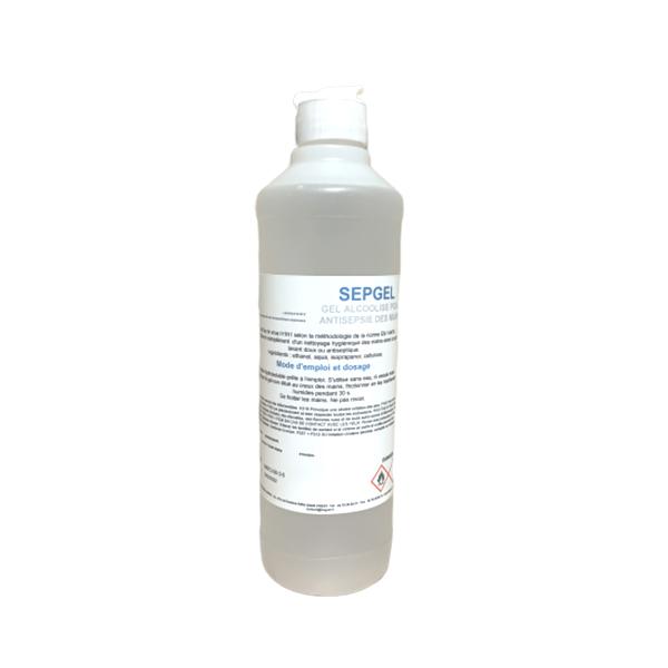 Gel Hydroalcoolique SEPGEL 1Litre