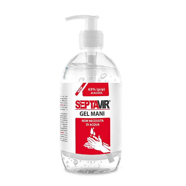Gel hydroalcoolique Septavir 500ml