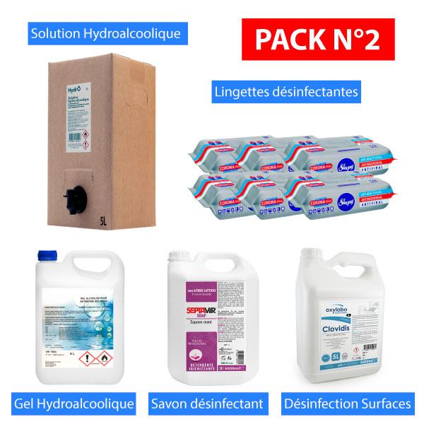 Packs Désinfection 02